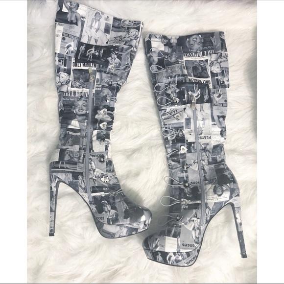 ed8d1d60b AMIclubwear Shoes   Marilyn Monroe Boots   Poshmark